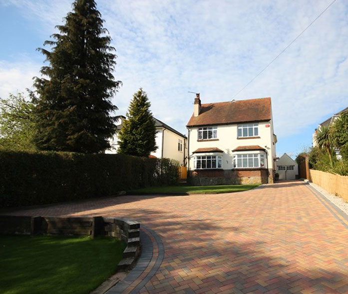 'Block paving in Broadstone''.